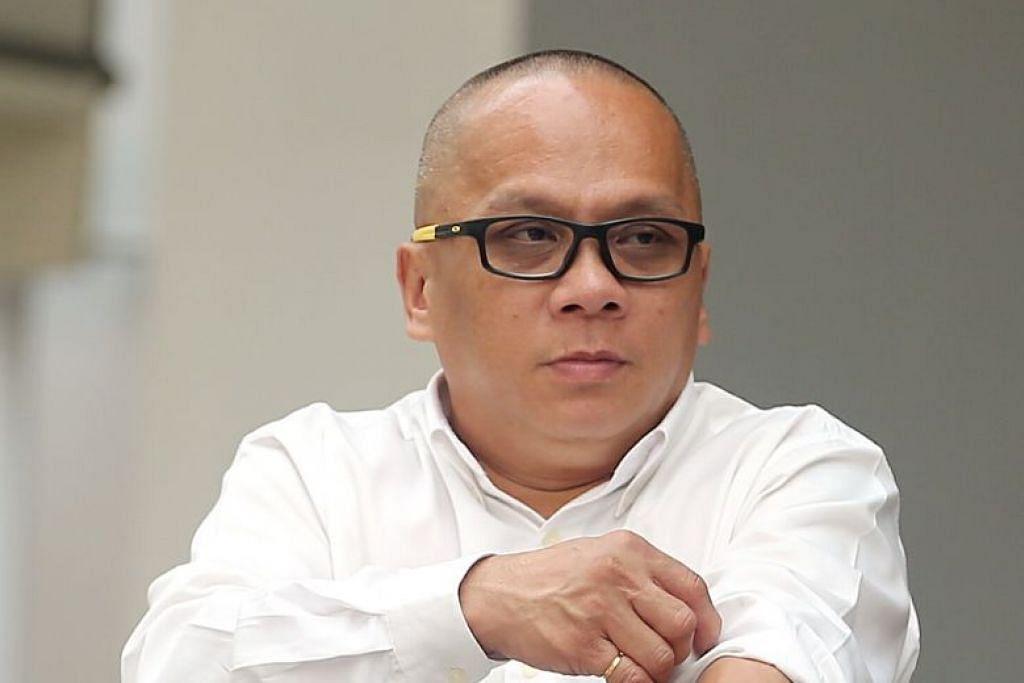 Chin Ming Lik dipenjara dua tahun 11 bulan dan didenda $1,600. FOTO: WONG KWAI CHOW