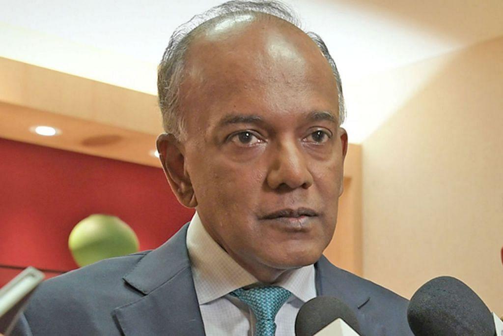 Encik K. Shanmugam, Menteri Ehwal Dalam Negeri merangkap Undang-Undang