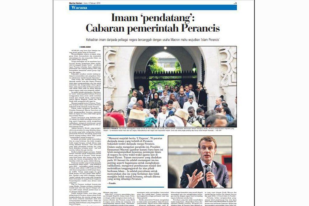 Dilema Perancis sepadukan warga Muslim negara itu
