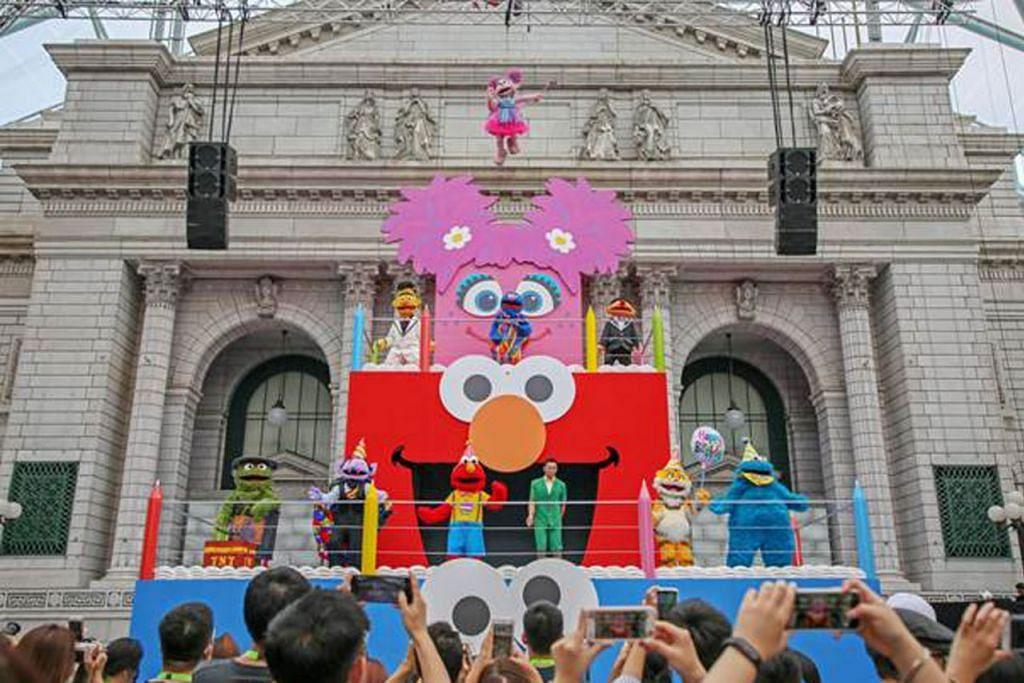 RAIKAN SESAME STREET: Universal Studios Singapore di Resorts World Sentosa mengadakan pameran khas sempena 50 tahun Sesame Street. - Foto RESORT WORLD SENTOSA