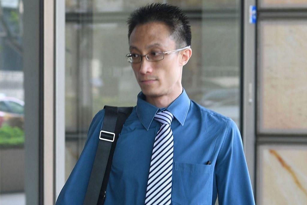RAYUAN DITOLAK: Ler Teck Siang tiba di mahkamah untuk mendengar rayuannya semalam. - Foto BH oleh KHALID BABA