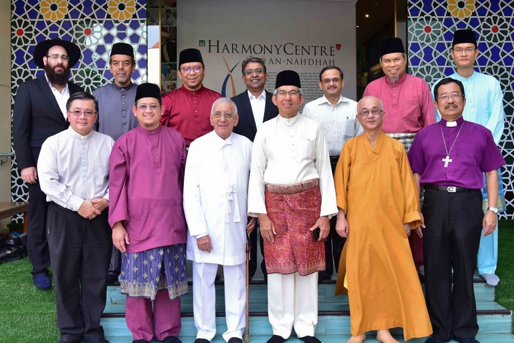 PUPUK KEHARMONIAN: Badan-badan seperti Pertubuhan Antara Keagamaan (IRO) dan Pusat Harmoni (gambar atas) telah ditubuhkan bagi memupuk keharmonian agama dan kaum di Singapura. - Foto fail