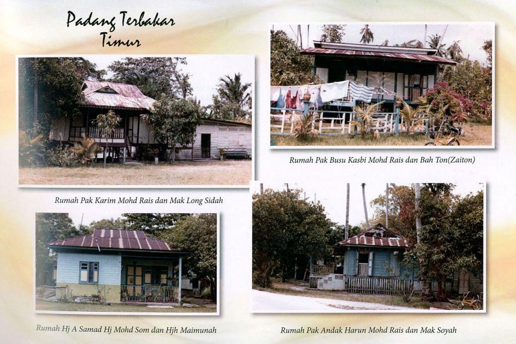 KENANGAN MENGUSIK JIWA: Rumah- rumah di Kampung Padang Terbakar sebelum ia dirobohkan untuk memberi laluan kepada pembangunan. - Foto HAFIZA TALIB