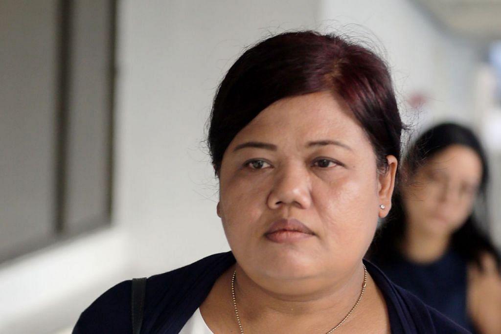 DIDAPATI BERSALAH: Parti Liyani didapati bersalah atas empat tuduhan mencuri. - Foto BH oleh WONG KWAI CHOW