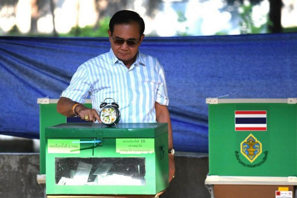 Voters in Thailand head to polls in long-awaited election