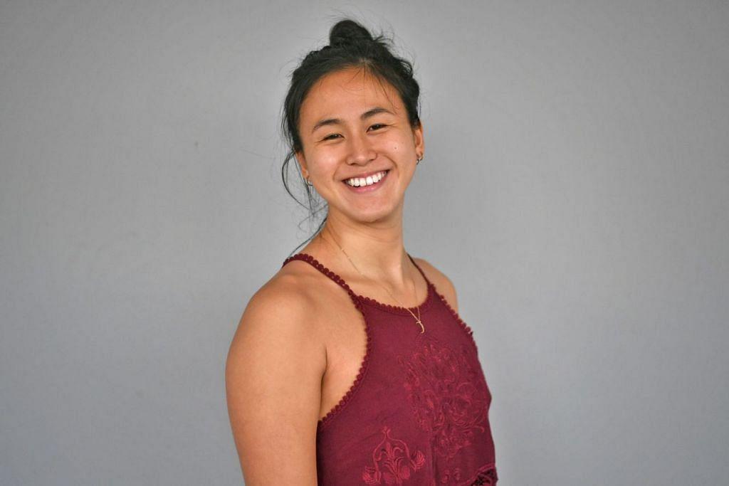 QUAH TING WEN: Jadi perenang setempat pertama yang mencapai masa bawah 55 saat dalam acara 100 meter gaya bebas wanita sekali gus memecahkan rekod nasional lama dua kali dalam sehari. - Foto fail