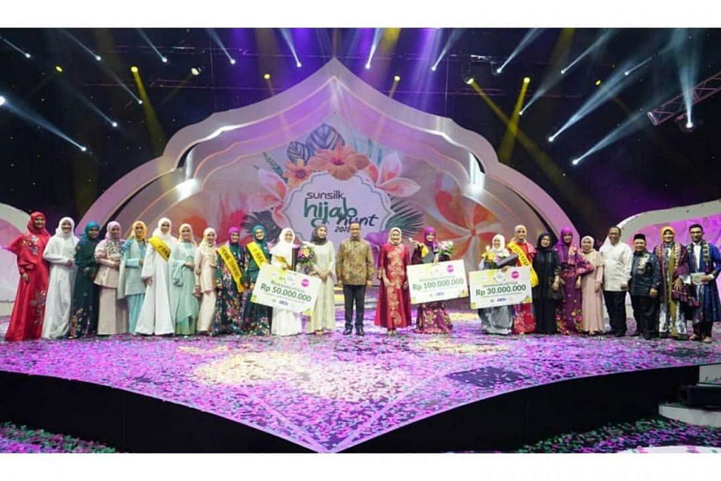'HIJAB HUNT': Antara kerjasama STB dengan Indonesia dalam menarik pelawat negara itu ialah pertandingan ratu cantik Muslimah 'Hijab Hunt' yang disokong STB.  - Foto STB