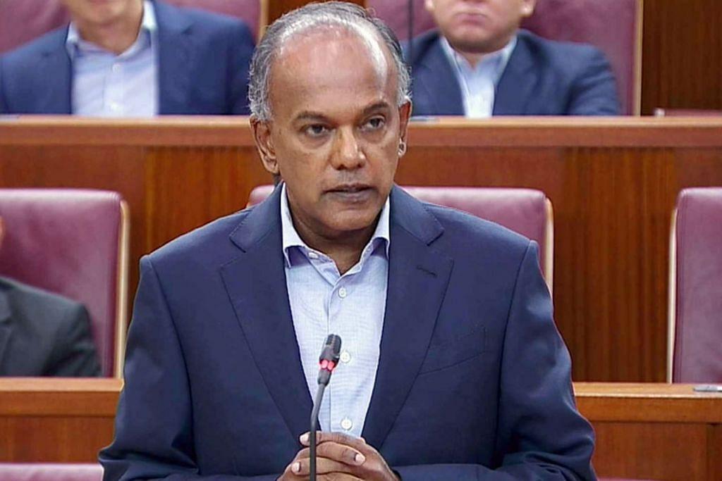 KESAN UCAPAN BENCI: Dalam kenyataan menterinya, Encik Shanmugam turut memberi contoh dunia bagaimana ucapan kebencian boleh membawa kepada pembunuhan dan tragedi - Foto GOV.SG