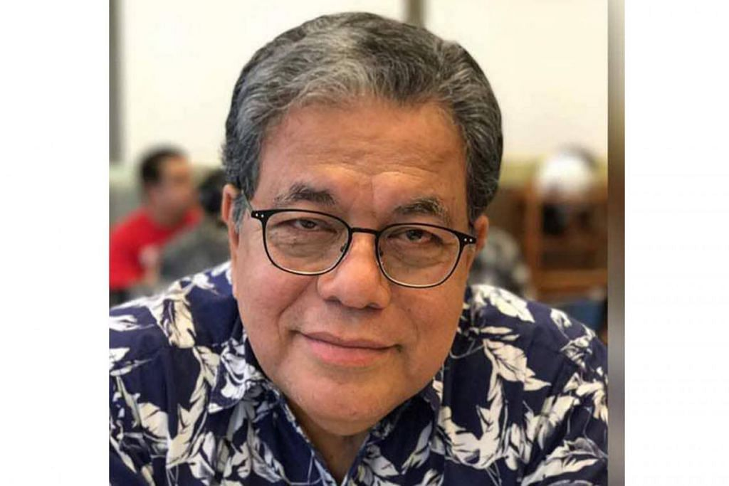 TAN SRI JOHAN JAAFAR: Sesi bersamanya pada Ahad ini di Blackbox, Sekolah Rendah Tampines.