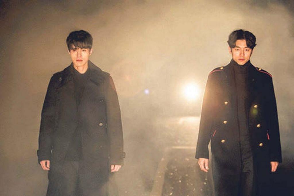 HATI TERSAYAT: Hasil teknologi seperti Netflix, penulis berpeluang menyaksikan kandungan menarik seperti siri drama Korea 'Goblin' yang dibintangi Gong Yoo (kanan) dan Lee Dong-wook. - Foto OH!K TV