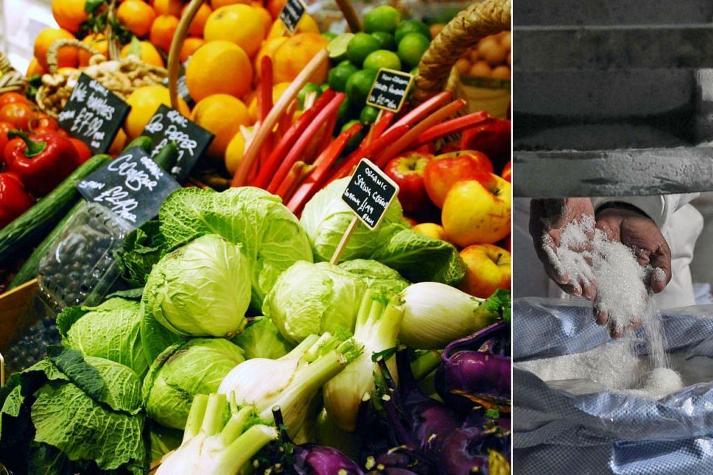SAH, DIET PENTING: Kajian Beban Penyakit Global mengesahkan diet tidak sihat bertanggungjawab bagi lebih banyak kematian daripada sembarang faktor risiko lain. Faktor risiko diet utama ialah kadar tinggi pemakanan natrium (terdapat banyak dalam garam) serta gula dan kadar rendah pemakanan makanan kesihatan, iaitu sayur-sayuran, buah-buahan dan kekacang. - Foto REUTERS, AFP
