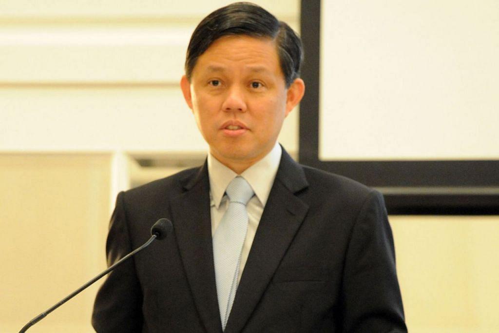 Menteri Perdagangan dan Perusahaan, Encik Chan Chun Sing