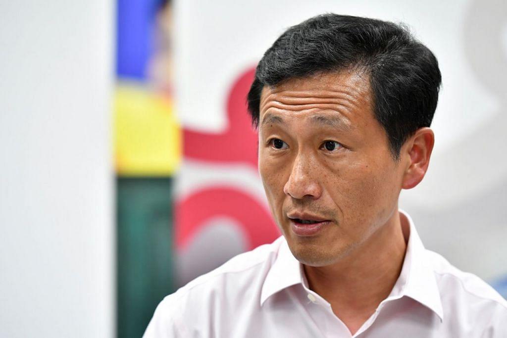 Menteri Pendidikan, Ecik Ong Ye Kung.