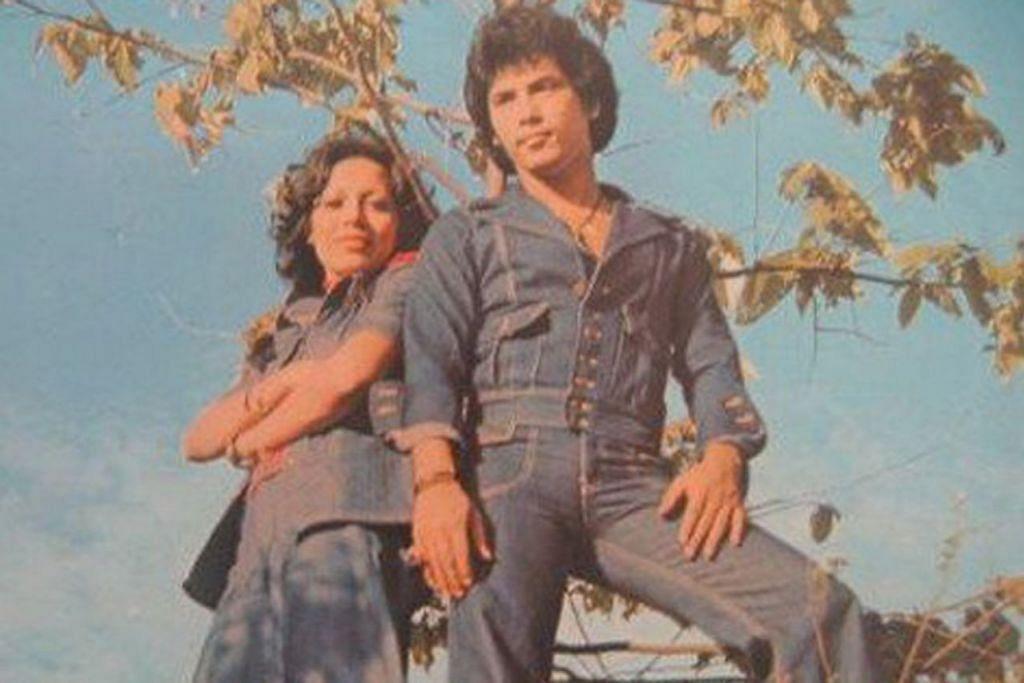UJI & HAIL: Tiada tandingannya daripada segi keserasian duet lagu cinta yang menusuk di sanubari. – Foto EMI