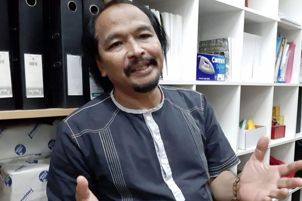 AZMAN SHARIFF: Sebagai sutradra Angka-Angka Yang Tinggal, juga tulisan Nadiputra. – Foto MAHYUNIS MAHFUDZ