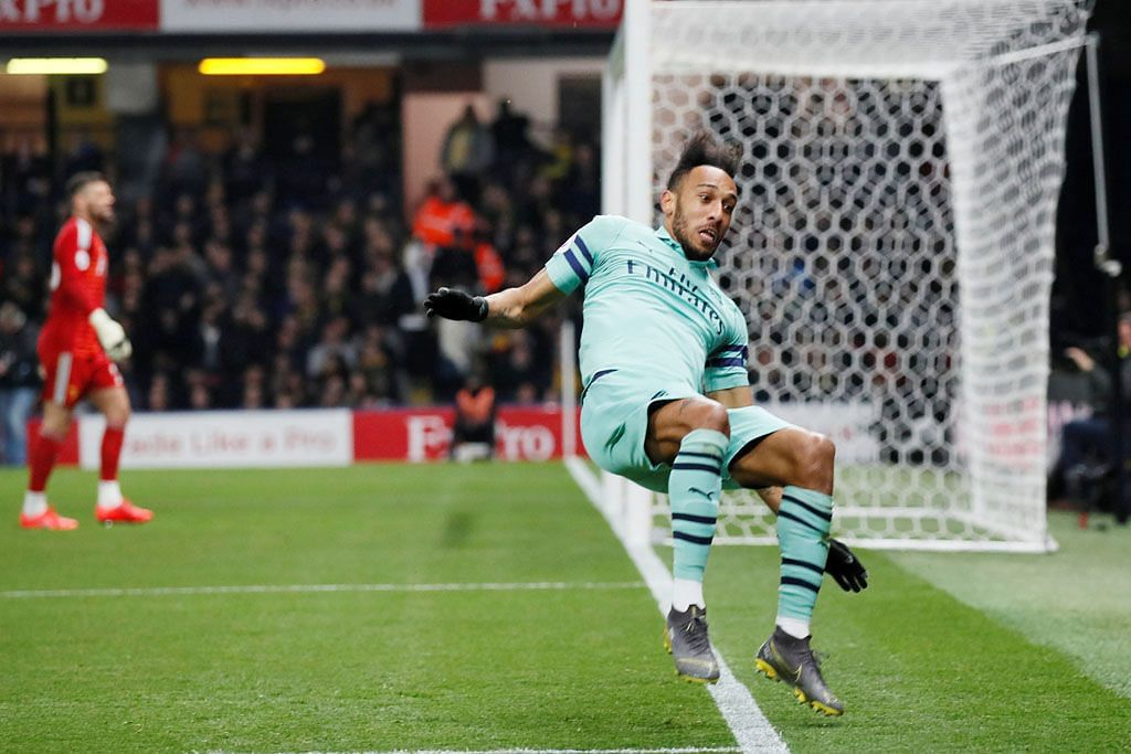 Arsenal atasi Watford, lompat ke empat tangga teratas