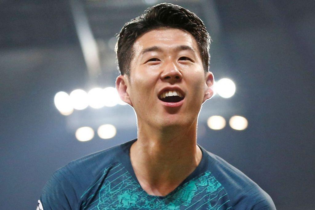CUKUP GEMBIRA: Bintang Tottenham Hotspur, Son Heung-min berkata kejayaan pasukannya menentang Manchester City adalah perlawanan paling 'gila' pernah diharunginya. – Foto Reuters