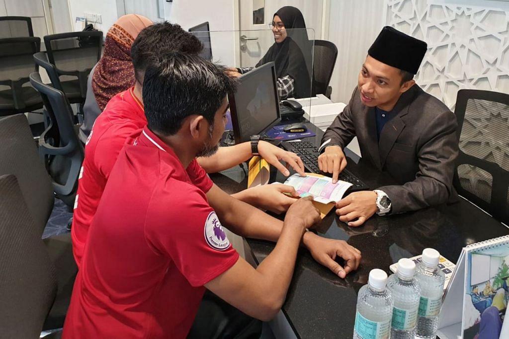 TAWAR KHIDMAT: Masyarakat berpeluang mengetahui tentang pelbagai program dan kegiatan anjuran Masjid Darul Ghufran. - Foto MASJID DARUL GHUFRAN