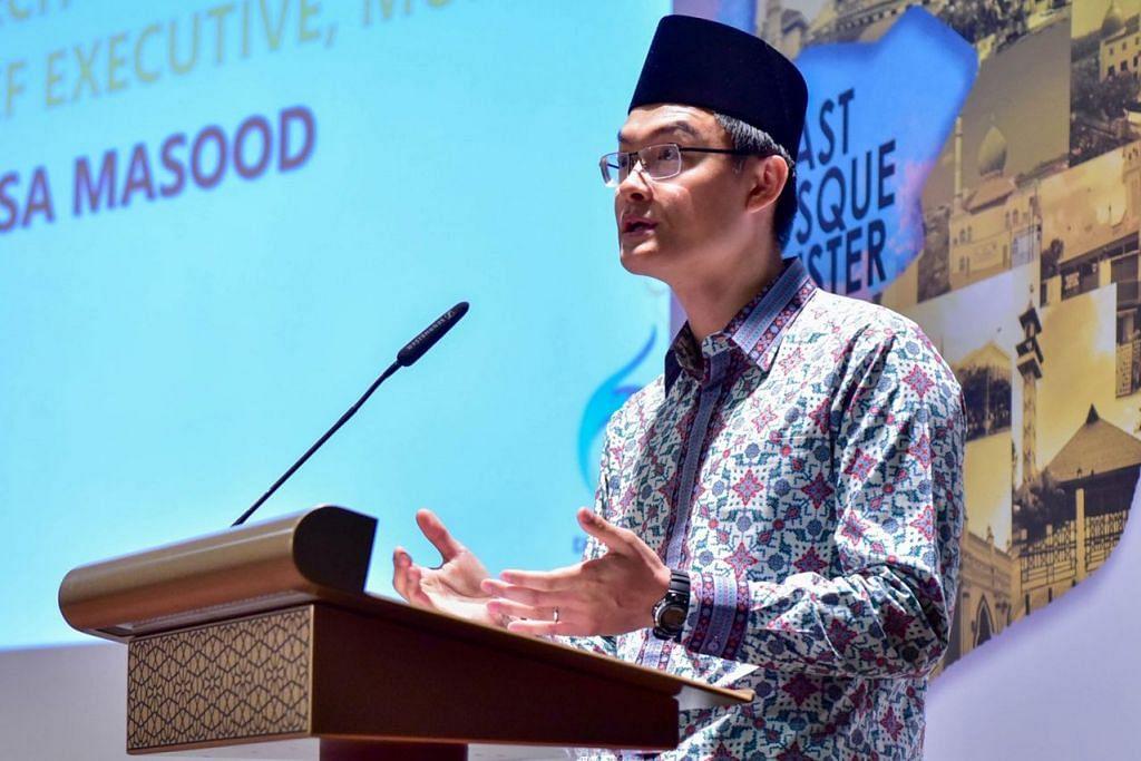 Ketua Eksekutif Majlis Ugama Islam Singapura (Muis), Encik Esa Masood. - Foto MUIS