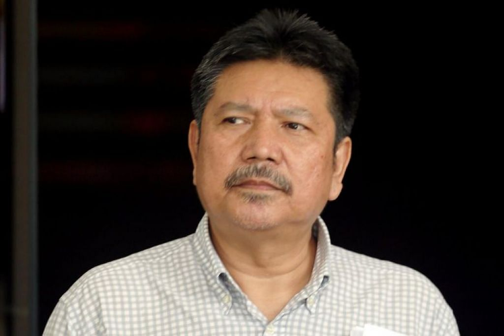 Ab Mutalif Hashim mengaku bersalah bulan lalu terhadap enam tuduhan pecah amanah melibatkan lebih $300,000. FOTO: WONG KWAI CHOW