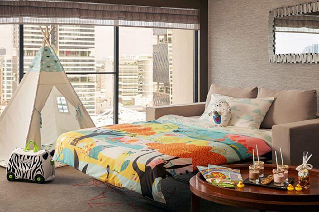 SELESA: Pakej 'Great Fun-mily Escapade' keluaran Hotel Pan Pacific. - Foto PAN PACIFIC SINGAPORE