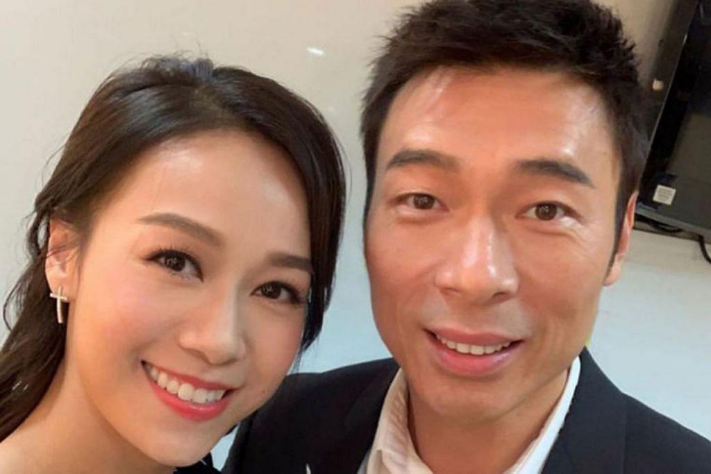 KERJAYA TERJEJAS: Setelah video mereka berciuman di teksi dirakam dan dijual, kerjaya Jacqueline Wong (kiri) dan Andy Hui yang sudah berumah tangga terjejas teruk. - Foto JACQUELINE WONG/INSTAGRAM