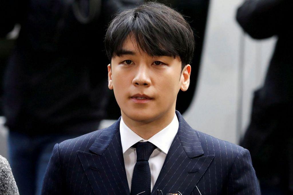 SEUNGRI: Namanya yang harum dalam kalangan peminat K-Pop tercemar apabila didakwa membubuh dadah dalam minuman wanita dan salah laku seksual. - Foto REUTERS