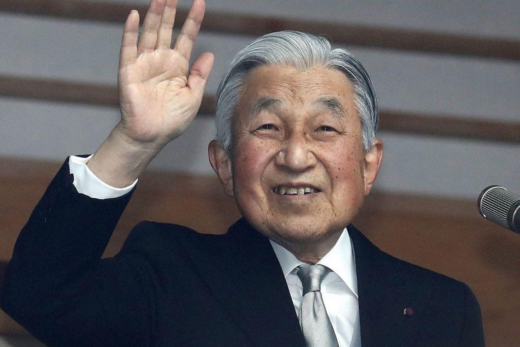 MAHARAJA BARU: Putera Naruhito akan mengambil alih sebagai Maharaja daripada ayahandanya, Maharaja Akihito (atas). - Foto fail