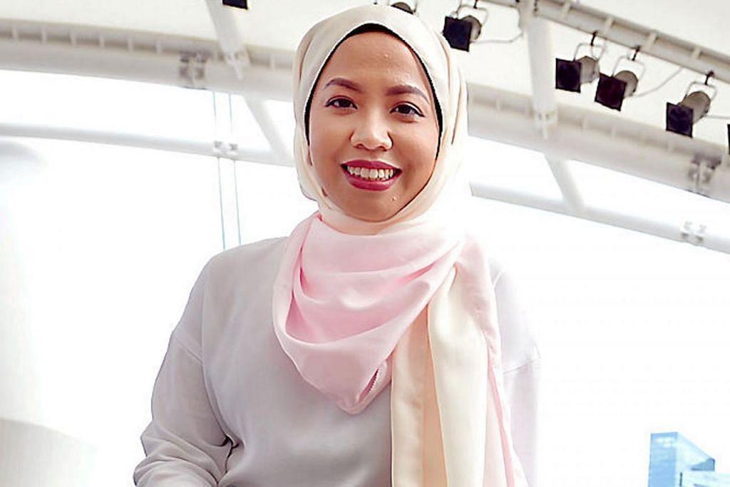 Pengatur program Esplanade, Cik Hanie Nadia Hamzah