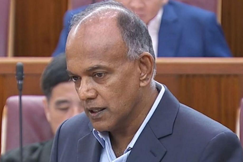 K. SHANMUGAM: Undang-undang yang baru akan menangani kesalahan melibatkan rakaman mengintai - termasuk pengedaran bahan sedemikian di Internet.