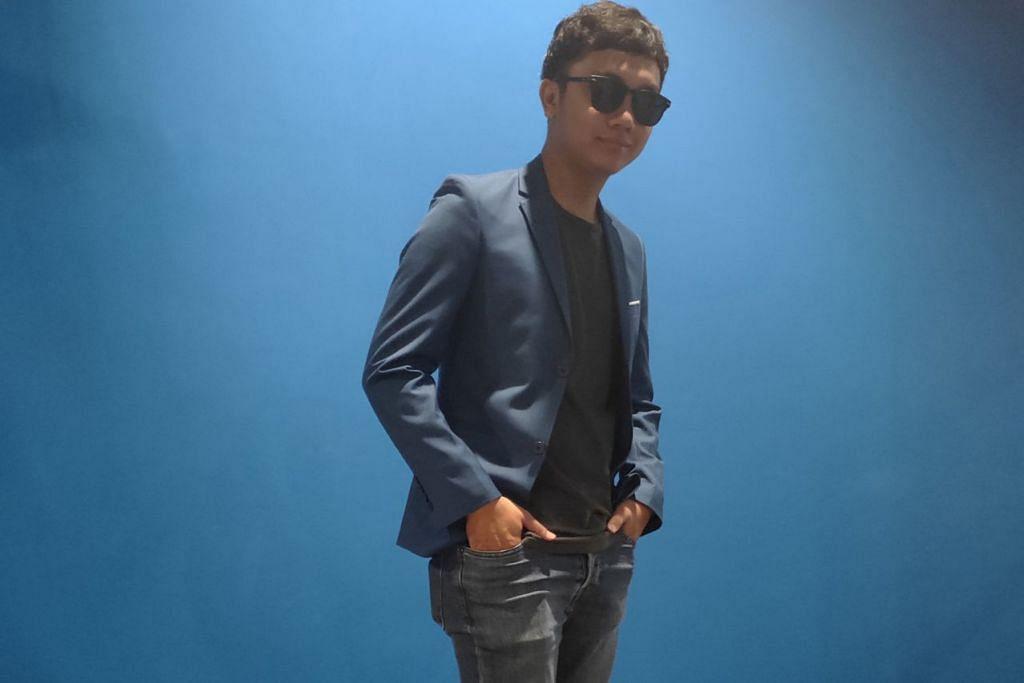 BERWAWASAN: Selain menghasilkan lagu sendiri, penyanyi tempatan Haqim Mokhtar memiliki syarikat penerbitan video sendiri. – Foto BH oleh SITI NURASHIKA MOHD ALI
