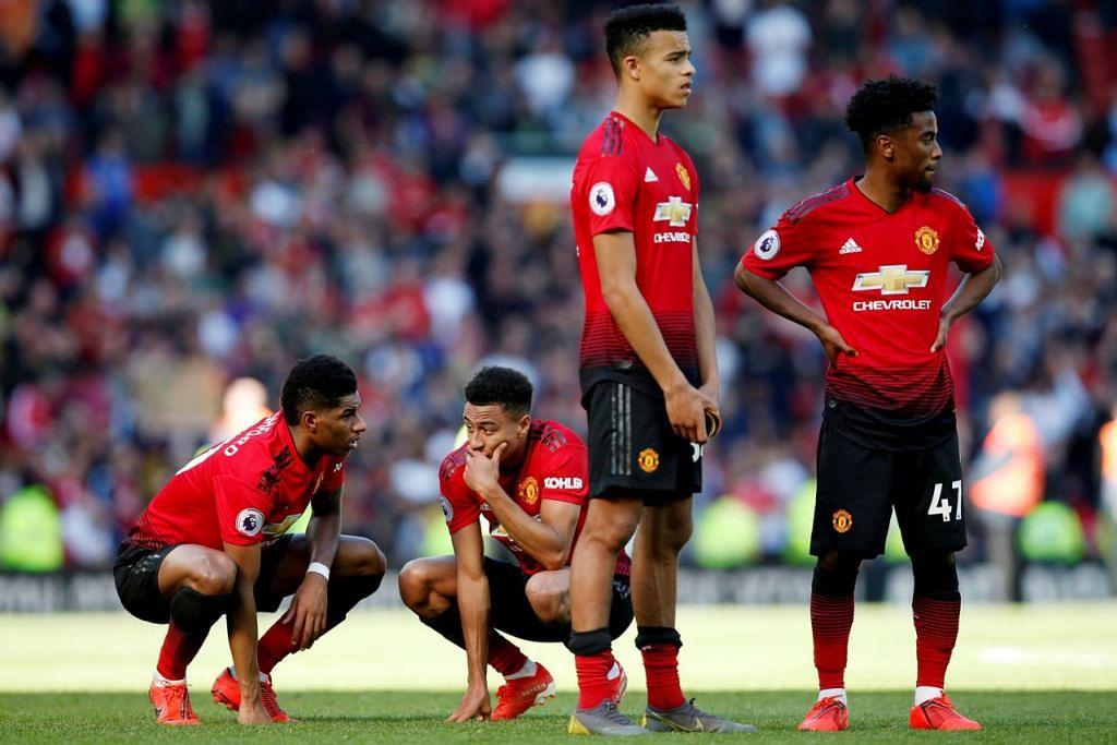 APA DAH JADI?: Mungkin itulah persoalan yang ditimbulkan pemain Manchester United yang mengakhiri musim kali ini dengan kekalahan kepada Cardiff. - Foto REUTERS