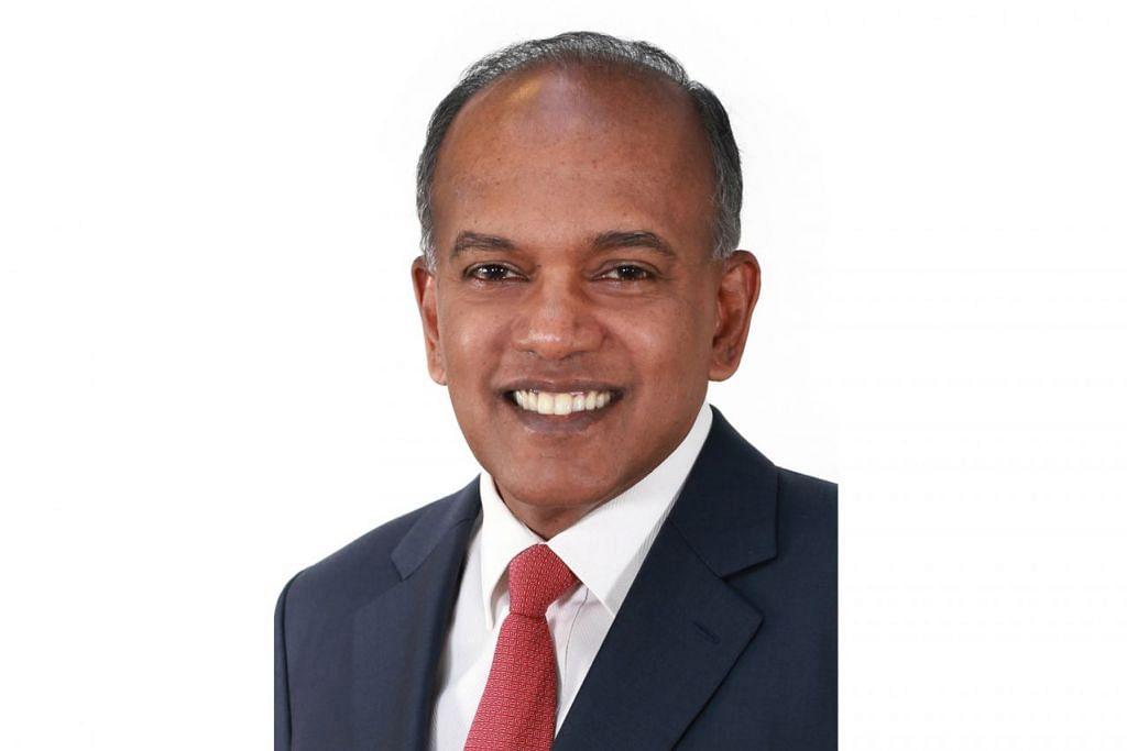 – Menteri Ehwal Dalam Negeri merangkap Undang-Undang, Encik K. Shanmugam