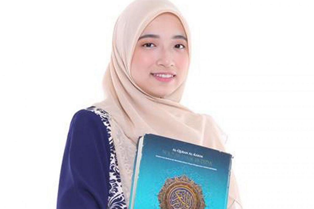 WAKIL MALAYSIA USTAZAH NOR FARHATUL FAIRUZAH PANUT