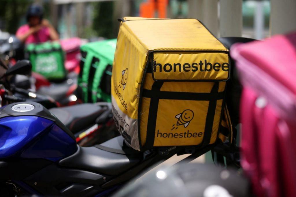 TANDA AWAL SUDAH KETARA: Menurut seorang pekerja penghantaran makanan honestbee, sudah ada tanda-tanda yang perniagaan syarikat itu semakin malap, terutama sekali dalam tempoh awal tahun lalu hingga tahun ini. – Foto fail