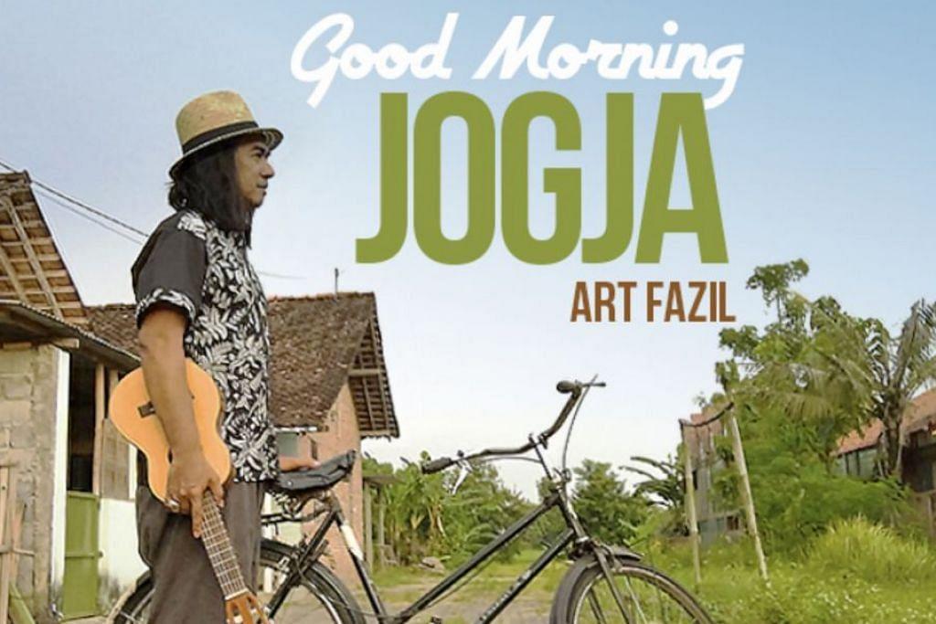 EDISI TERHAD: Inilah CD edisi terhad 'Good Morning Jogja' mengandungi lapan lagu baru terbitan Moro Records. – Foto ART FAZIL