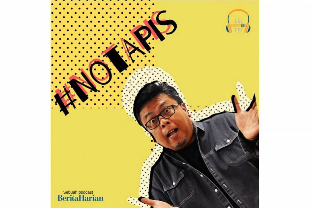 BINCANG ISU: Podcast Berita Harian #NOTAPIS boleh anda dengar di aplikasi Spotify secara percuma. – Foto BH