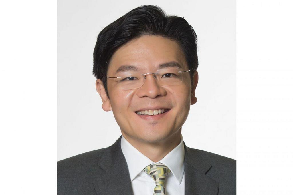 Menteri Pembangunan Negara, Encik Lawrence Wong.