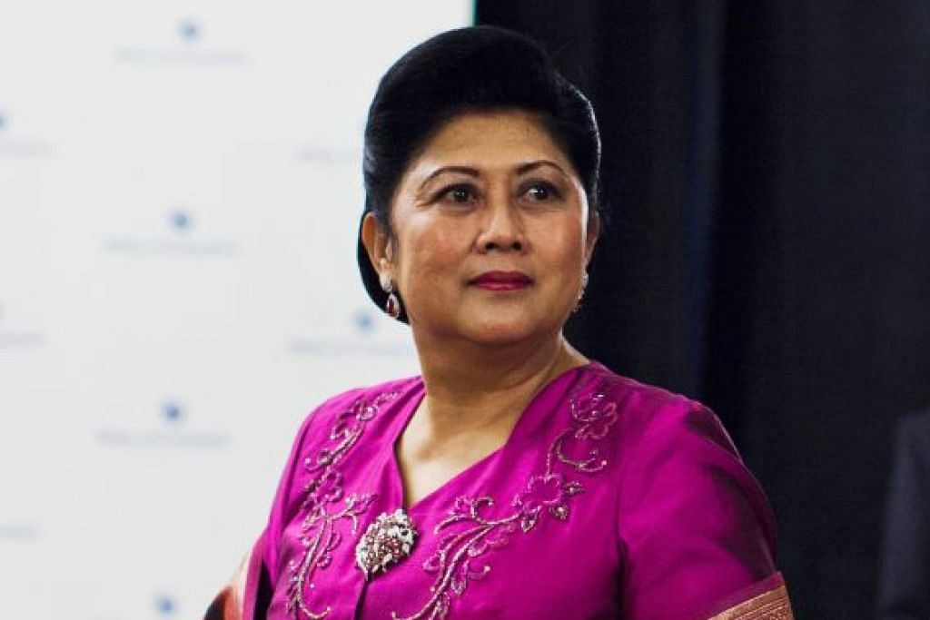 Wife of former Indonesian Presdent Dr Susilo Bambang Yudhoyono died in Singapore
