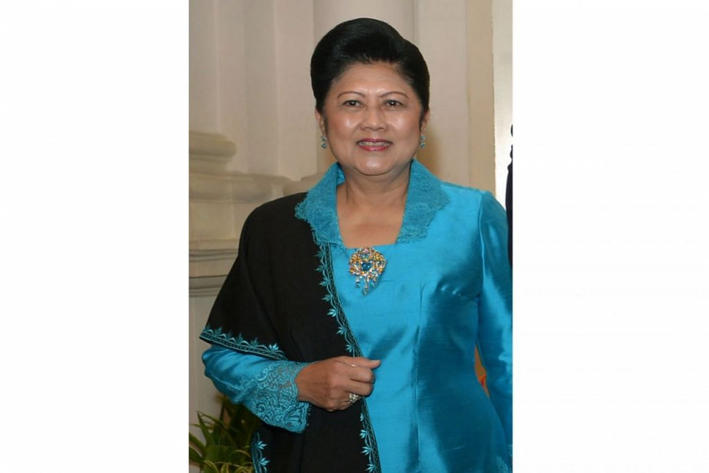 Allahyarhamha, Cik Ani Yudhoyono.