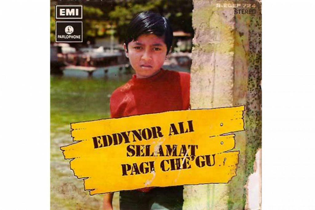 BINTANG KECIL: Eddy Nor Ali (gambar atas) bermula sebagai penghibur cilik yang datang daripada keluarga seni. – Foto EMI