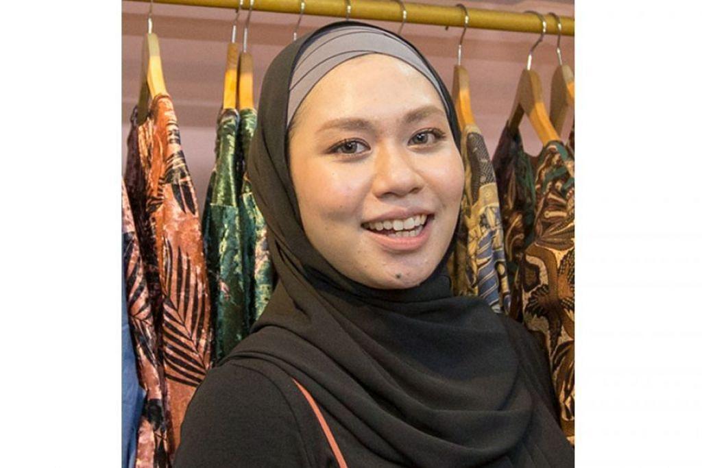 Cik Nur Hidayah Abdul Rahim, pemilik perniagaan pakaian, Inlove by TNS.