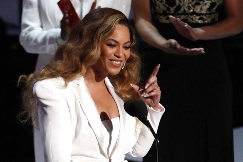 PINJAMKAN SUARA: Bakal muncul filem drama muzikal The Lion King yang turut menampilkan Beyonce (gambar atas). Filem ini dihasilkan sempena ulang tahun ke-25 filem animasi asal The Lion King dijana. - Foto REUTERS