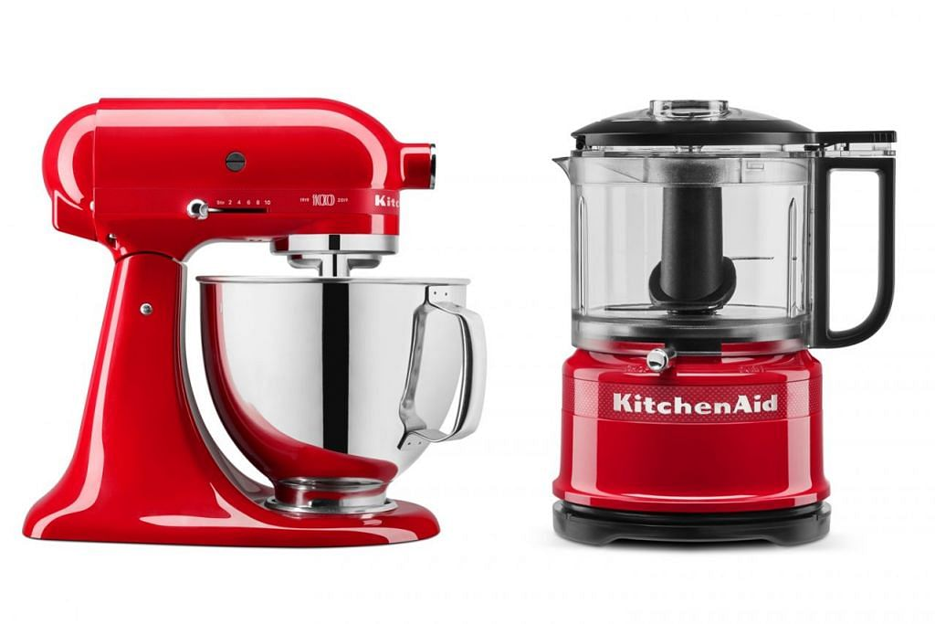 'KITCHENAID 100TH YEAR EDITION QUEEN OF HEARTS BUNDLE - STAND MIXER AND CHOPPER'