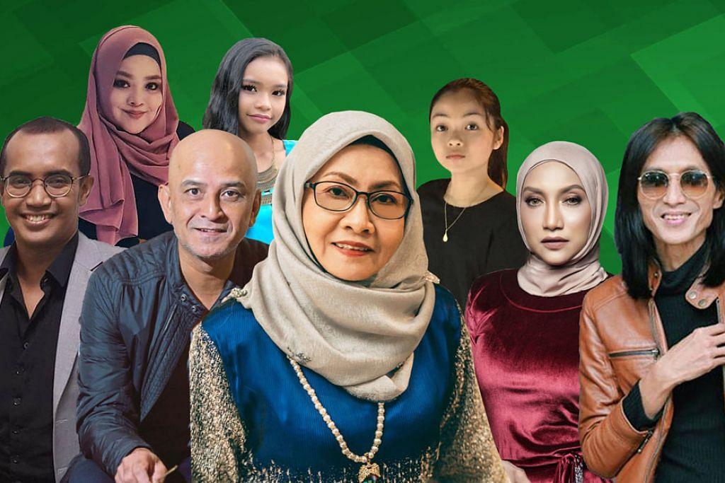 Sanisah Huri, Ziana Zain antara artis acara 'Hi-Tea Bintang-Bintang Berhari Raya'