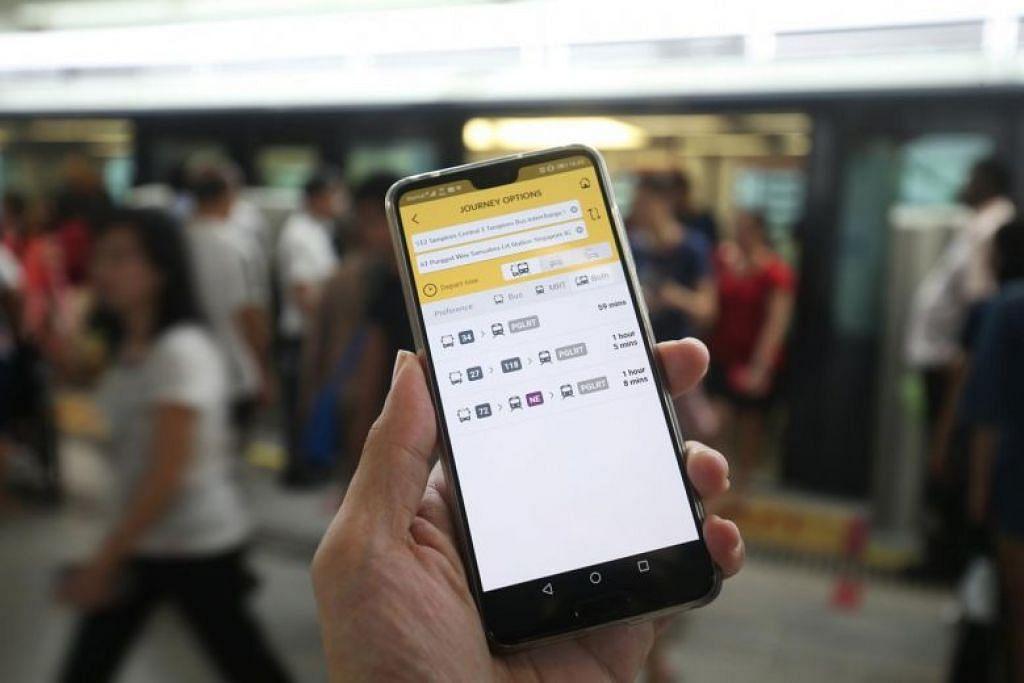 LTA sedang berusaha memperbaiki aplikasi MyTransport.SG untuk memudahkan orang ramai memberi maklum balas berkenaan pengguna PMD yang tidak bertanggungjawab. FOTO: LIANHE ZAOBAO