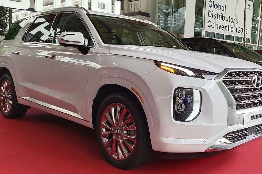 Hyundai Palisade SUV terbesar dalam senarai model jenama automobil Korea itu. Foto ADLI YASHIR KUCHIT