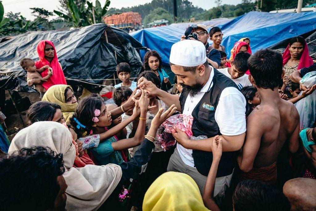 KEBAIKAN BAGI SEMUA: Badan kemanusiaan Global Ehsan Relief bukan sahaja membantu anak yatim malah menghulurkan bantuan kemanusiaan di bawah beberapa projek. - Foto fail