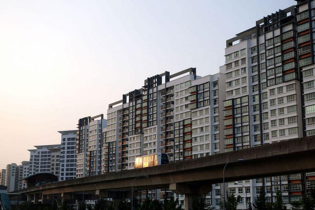 LEBIH BANYAK PILIHAN: HDB akan menawarkan sekitar 3,300 flat Bina Ikut Tempahan (BTO) di Punggol dan Tampines pada Ogos nanti, dan sekitar 4,500 flat BTO di Ang Mo Kio, Tampines dan Tengah pada November 2019. - Foto BH oleh STEPHANIE YEOW