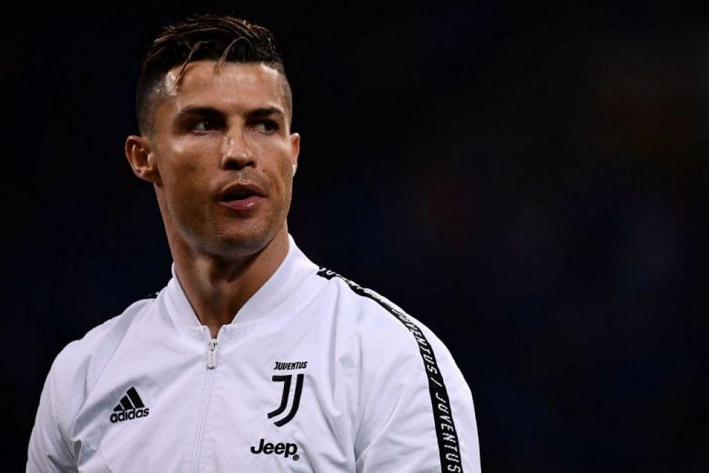 Cristiano Ronaldo dijangka berada di Singapura sehingga Jumaat ini. FOTO: AFP